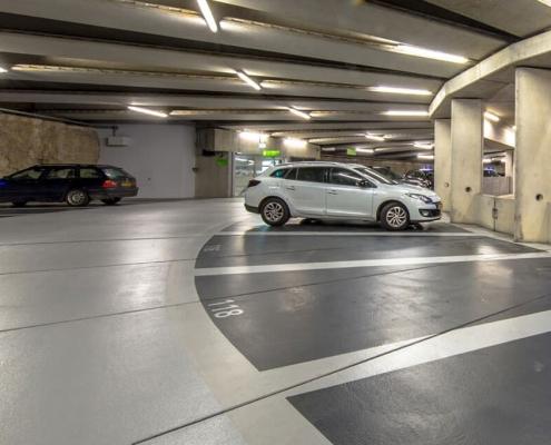 Limpieza de parking y garajes