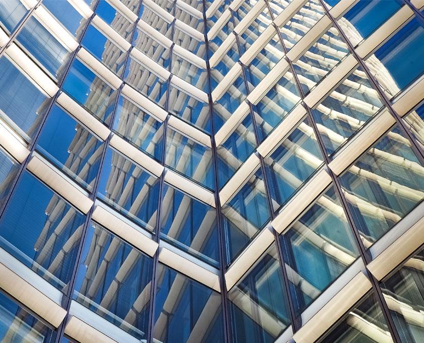 Cristales muro cortina
