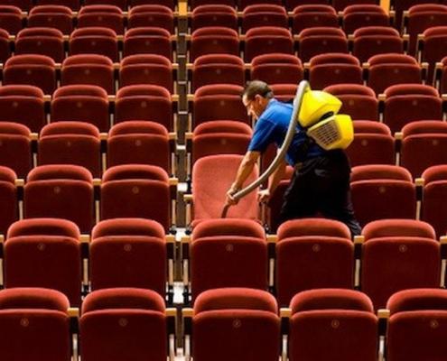 Limpieza de centros culturales