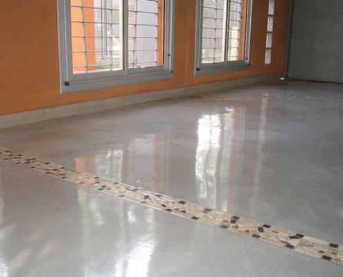 Micropulido de suelos y paredes